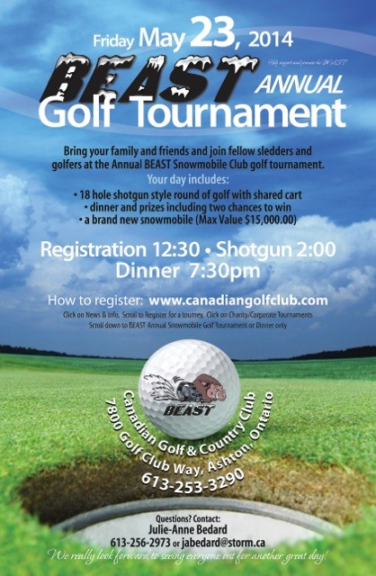 BEAST Golf Tournament May 23, 2014